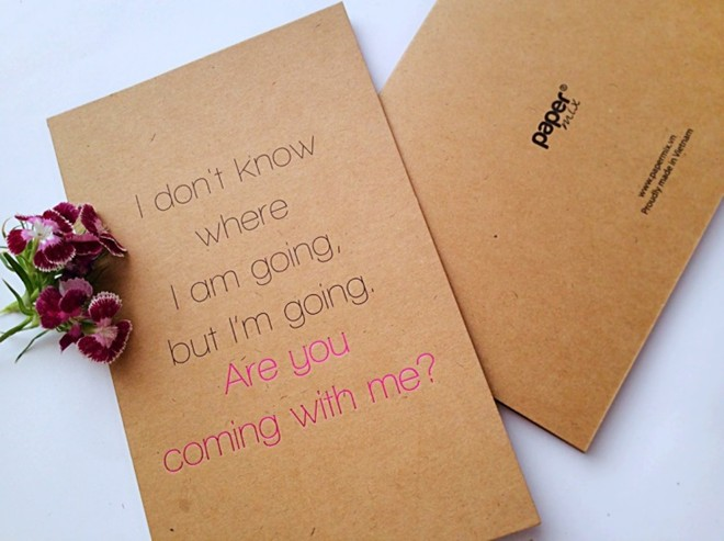 Đơn giản chỉ thể hiện những lời nhắn ngọt ngào (Thiệp Papermix).