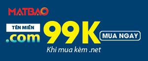 Mắt Bão bộ đôi .com .net giá chỉ 99k